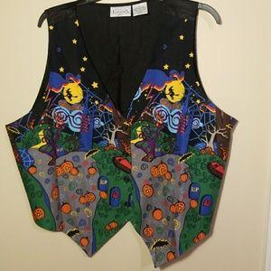 Halloween Vest  Size 1X